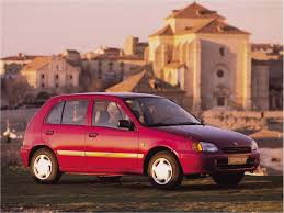 the history of toyota starlet catalog cars