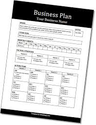Business Template Plan by Actionable Business Plan Template Do The Things