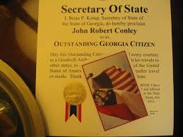 Georgia travel state images Photo of georgia flag john robert conley jpg
