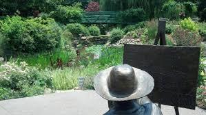Overland Park Botanical Garden Monet Garden Picture Of Overland Park Arboretum And Botanical