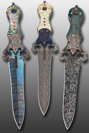 metal john lewis jensen artist desk daggers fixed blade dagger