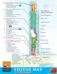 Loyola University Chicago Map by Navy Pier Visitor Map Find Chicago Maps Pinterest