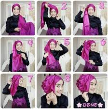 tutorial hijab pesta 2 kerudung 35 tutorial hijab pesta kondangan modern terbaru 2018 tutorial