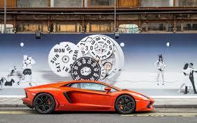 Lamborghini Aventador Orange - car lamborghini aventador lp700 4 orange 6927129