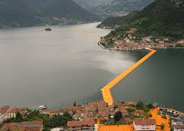 Floating Piers by The Floating Piers