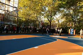 basketball courts with lights near me west 4th street courts nyc parks