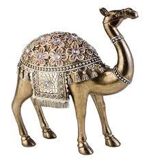 sintechno sk 4252 d1 sakura camel statue decor 9 5
