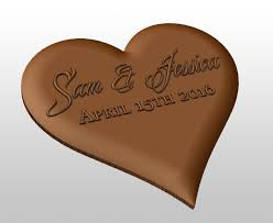 personalised chocolate cupcakes valentines day gifts custom chocolate mold heart shaped custom silicone mold