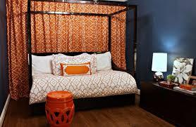 bedding set digital stillcamera orange grey bedding wealth gray