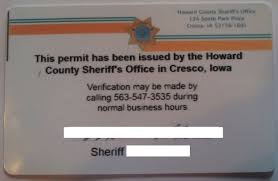 iowa concealed carry permit information usa carry
