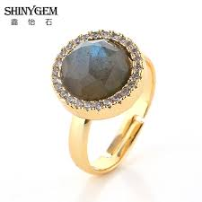 aliexpress buy nyuk gold rings bling gem high quality side bands buy cheap side bands lots from high