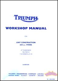 triumph shop service manuals at books4cars com