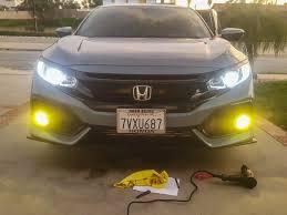 what do fog lights do tinted fog lights on sport hatch 2016 honda civic forum 10th gen