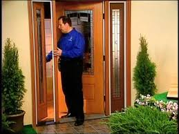 Vented Exterior Door Fiberglass Exterior Doors Exterior Oak Doors The Money Pit