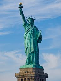 statue with rick perry and the satanic statue of liberty big think
