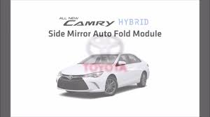 toyota camry hybrid 2015 side mirror auto fold module am 089tc