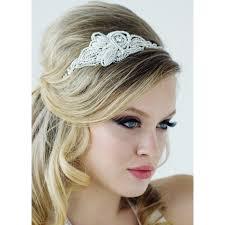 serre tãªte mariage tête headband bijoux de tête perles ivoire coiffure mariée
