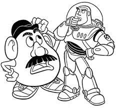 Potato Head Kit Toy Story Potato Head Buzz Toy Story Coloring Download