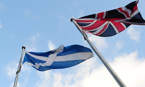 scotland and uk flags otb online journal of politics and