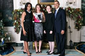 obama s norah and her mother with president obama and the first lady irish