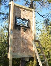 Deer Hunting Box Blinds Plans Assembling Your Homemade Deer Hunting Box Stand Plans Building