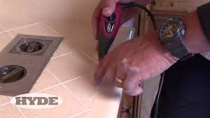 Regrouting Floor Tiles Tips by How To Regrout Youtube