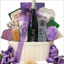 lavender gift basket riesling wine spa gift basket