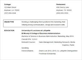 great resume objective examples classy design resume objective for internship 14 public relations