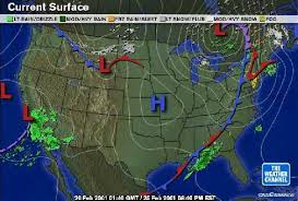 weather fronts map weather maps