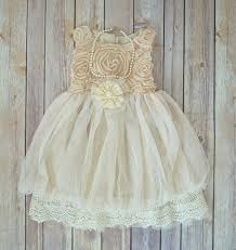 toddler wedding dress ivory lace flower dress ivory toddler dress rustic wedding