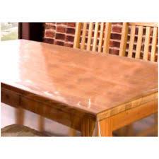 clear vinyl table protector clear pvc vinyl oilcloth tablecloth table protector waterproof