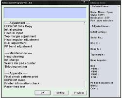 epson tx111 ink pad resetter epson tx111 service adjustment program service manuals download