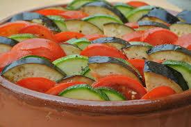 cuisine de laurent mariotte tian de légumes dans la cuisine de fabienne