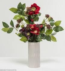Artificial Flower Arrangement In Vase Which Fake Flowers Aren U0027t Naff Daily Mail Online