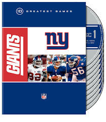 amazon com nfl new york giants 10 greatest games bill