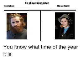 No Shave November Memes - no shave november expectations the sad reality no shave november