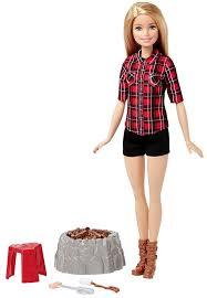 2017 barbie career dolls camping dolls