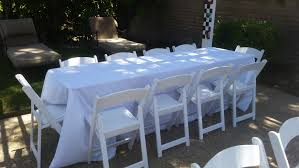 Table Cloth Rental by White Chair Rentals White Padded Chair Los Angeles Ca Big
