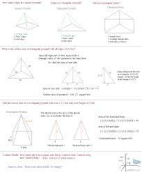 area of polygons worksheets free surface area questions and
