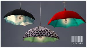 Umbrella Ceiling Light Second Life Marketplace Rainy Day Ceiling Lamps Dreamer Darks