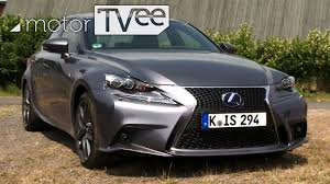sporty lexus 4 door test lexus is 300h f sport sporty hybrid or just good looking