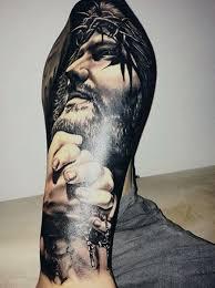 28 best jesus half sleeve tattoos for drawings images on