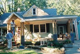remodelaholic home exterior facelift adding a porch