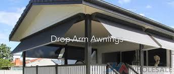 Drop Arm Awnings Drop Pivot Arm Fabric Awning U2014 Fha Wholesale