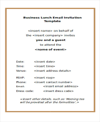 lunch invites lunch invitation email template systematic depiction yet