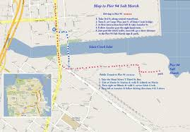 San Francisco Pier Map by Along San Francisco Bay At Pier 94 Sat Aug 5 From 9am Noon Idealist