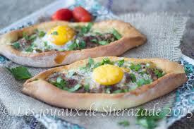 cuisine turque pizza turque pide à la viande les joyaux de sherazade
