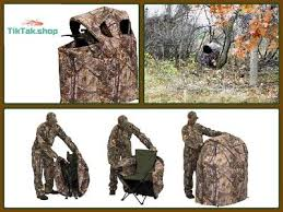 tent chair blind ameristep deluxe tent chair blind two ground camo