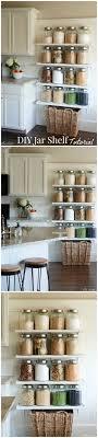 kitchen ideas magazine diy kitchen jar shelves tutorial jars ideas magazine and tutorials