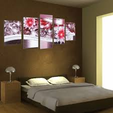 728 best wall design images 5pcs frameless canvas painting picture diamond flowers art